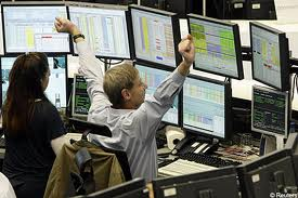 trader on a forex floor
