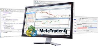 metatrader 4 software on a screen