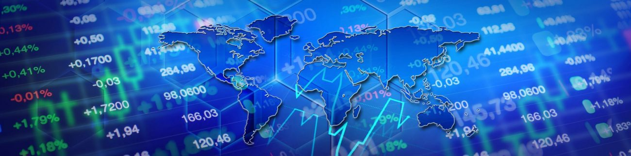 automated currency trading world map