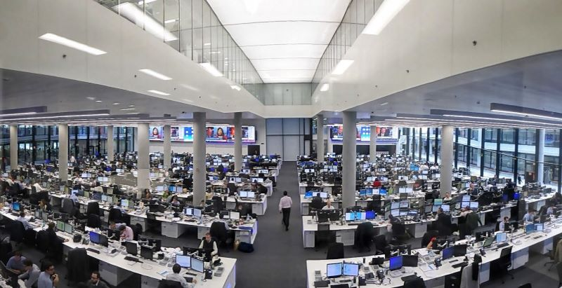 investment bank forex trading floor